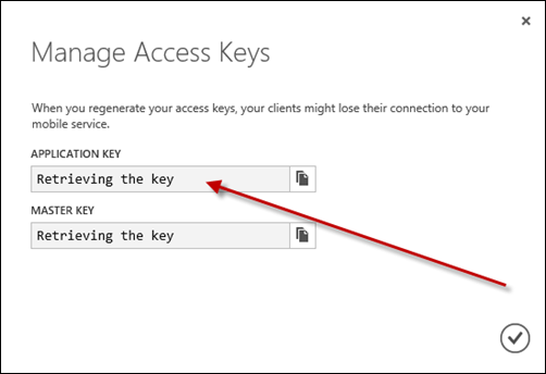 28-XAML-ManageAccessKeys
