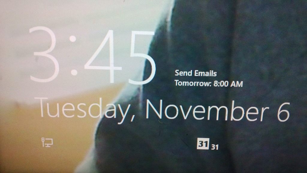31 days of windows 8 day 11 lock screen apps