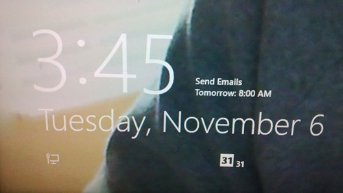 31 Days of Windows 8 | Day #11: Lock Screen Apps