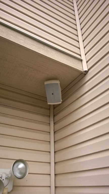 To Do This, I Started With A Reasonably Priced Set Of Yamaha Outdoor  Speakers. They Were $69 At Amazon, And Have U201cmake Your Neighbors Call The  Policeu201d ...