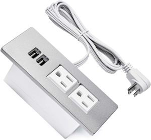 Power outlet with cord